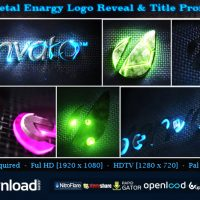 METAL ENERGY LOGO REVEAL & TITLE PROMO – AFTER EFFECTS PROJECT (VIDEOHIVE)