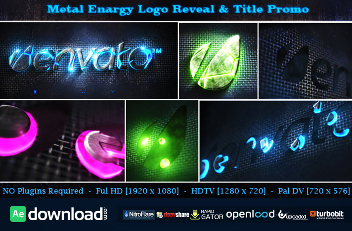 Metal Energy Logo Reveal & Title Promo