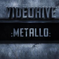 METALLO – AFTER EFFECTS PROJECT – VIDEOHIVE