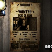 MOST WANTED 182561 – AFTER EFFECTS PROJECT (VIDEOHIVE)