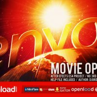 MOVIE OPENER – AFTER EFFECTS PROJECT (VIDEOHIVE)