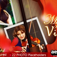 MY VIOLIN – AFTER EFFECTS PROJECT (VIDEOHIVE)