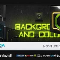 NEON LIGHTS PACK – AFTER EFFECTS PROJECT (VIDEOHIVE)
