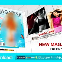 NEW MAGAZINE – FREE AFTER EFFECTS PROJECT (VIDEOHIVE)