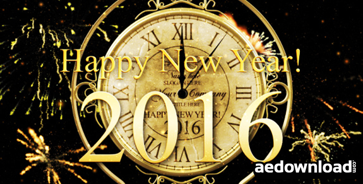 New Year Countdown Clock 2016