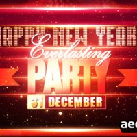 NEW YEARS PARTY – AFTER EFFECTS PROJECT (VIDEOHIVE)