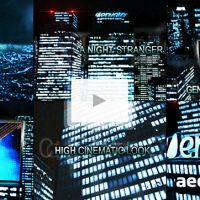 NIGHT STRANGER – AFTER EFFECTS PROJECT (VIDEOHIVE)