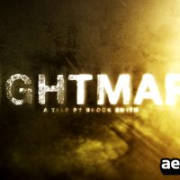 NIGHTMARE HD TRAILER – AFTER EFFECTS PROJECT (VIDEOHIVE)
