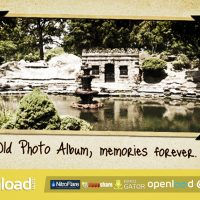 OLD PHOTO ALBUM – AFTER EFFECTS PROJECT (VIDEOHIVE)