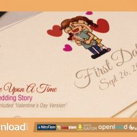 ONCE UPON A TIME – A WEDDING STORY – AFTER EFFECTS PROJECT (VIDEOHIVE)