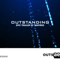 OUTSTANDING – EPIC TRAILER V5 – AFTER EFFECTS PROJECT (VIDEOHIVE)