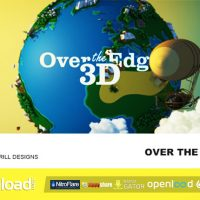 OVER THE EDGE – 3D – AFTER EFFECTS PROJECT (VIDEOHIVE)