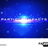 PARTICLE IMPACTS – AFTER EFFECT PROJECT (VIDEOHIVE)