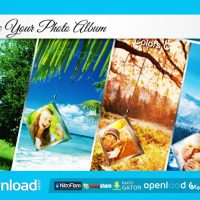 PHOTO ALBUM – AFTER EFFECTS PROJECT (VIDEOHIVE)