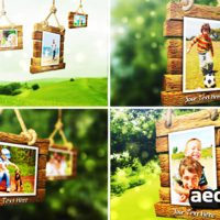 PHOTO ALBUM V2 – AFTER EFFECTS PROJECT (VIDEOHIVE)