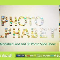 PHOTO ALPHABET – AFTER EFFECTS PROJECT (VIDEOHIVE)