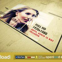 PHOTO AND TYPO SLIDER – FREE DOWNLOAD (VIDEOHIVE)