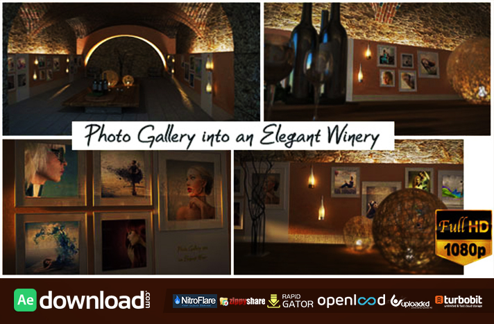 Photo Gallery In An Elegant Winery