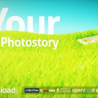 PHOTOS ON GRASS – AFTER EFFECTS PROJECT (VIDEOHIVE)