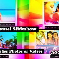 POLAROID CAROUSEL SLIDESHOW FOR PICTURES AND VIDEO (VIDEOHIVE)