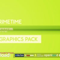 PRIMETIME BROADCAST GRAPHICS PACK (ROCKETSTOCK)