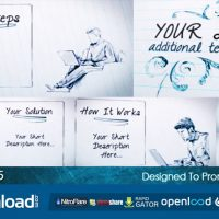 QUICK SKETCH – AFTER EFFECTS PROJECT (VIDEOHIVE)