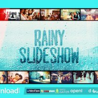 RAINY SLIDESHOW – FREE AFTER EFFECTS PROJECT (VIDEOHIVE)