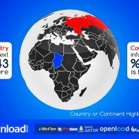 REAL WORLD MAP COUNTRY HIGHLIGHTER – FREE DOWNLOAD (VIDEOHIVE)