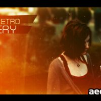RETRO GALLERY – AFTER EFFECTS PROJECT (VIDEOHIVE)