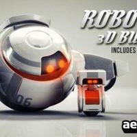 ROBOTS 3D LOGO BUMPERS – AFTER EFFECTS PROJECT (VIDEOHIVE)