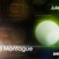 ROMEO & JULIET – AFTER EFFECTS PROJECT (VIDEOHIVE)