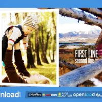 RUSTIC OUTDOOR PHOTO GALLERY – FREE AFTER EFFECTS PROJECT (VIDEOHIVE)