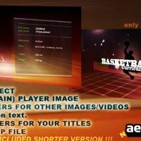 SPORT VIDEO CV – AFTER EFFECTS PROJECT (VIDEOHIVE)