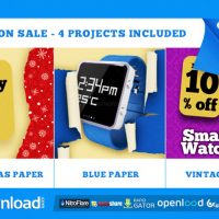 SEASON SALE – FREE AFTER EFFECTS PROJECT (VIDEOHIVE)