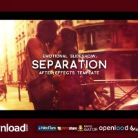 SEPARATION – FREE AFTER EFFECTS PROJECT (VIDEOHIVE)