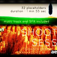 SHOOTING SESSION – AFTER EFFECTS PROJECT (VIDEOHIVE)