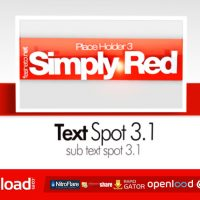 SIMPLY RED CS4 – AFTER EFFECTS PROJECT (VIDEOHIVE)