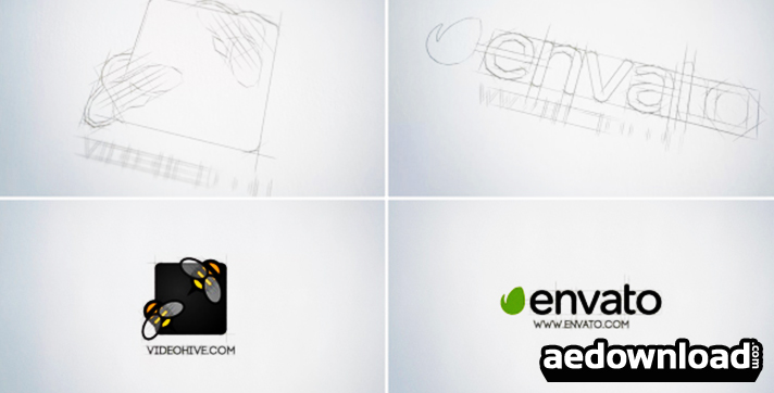 SKETCH LOGO REVEAL - VIDEOHIVE - Free After Effects Template - Videohive Projects