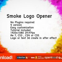 SMOKE LOGO OPENER – VIDEOHIVE FREE DOWNLOAD