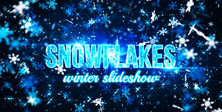 Snowflakes (winter slideshow)