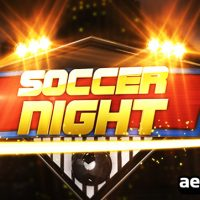 SOCCER NIGHT OPENER – AFTER EFFECTS PROJECT (VIDEOHIVE)