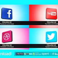 SOCIAL NETWORK 6689094 – FREE AFTER EFFECTS PROJECT (VIDEOHIVE)