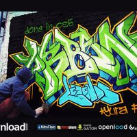 SPRAY YOUR GRAFFITI – AFTER EFFECTS PROJECT (VIDEOHIVE)