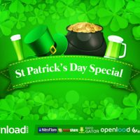 ST PATRICK'S DAY SPECIAL PROMO – FREE AFTER EFFECTS PROJECT (VIDEOHIVE)