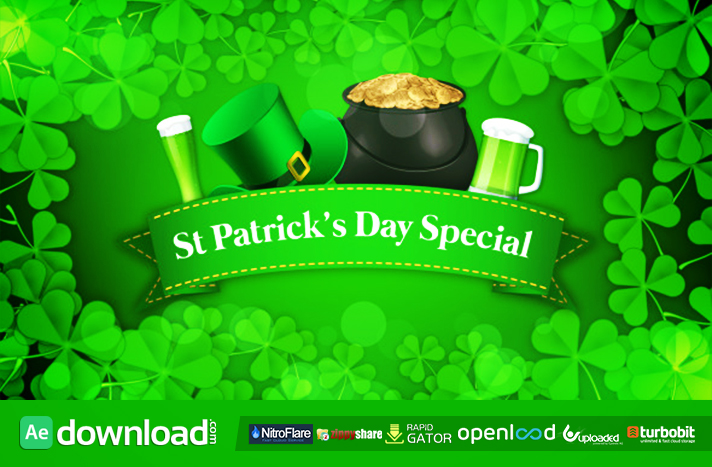 St Patrick's Day Special Promo
