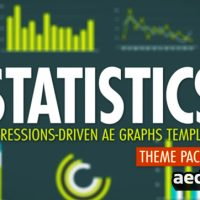 STATISTICS THEME PACK 1 – AFTER EFFECTS PROJECT (VIDEOHIVE)