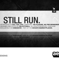 STILL RUN – AFTER EFFECTS PROJECT (VIDEOHIVE)