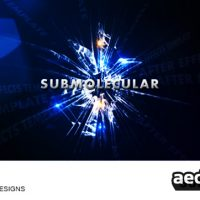 SUBMOLECULAR – AFTER EFFECTS PROJECT (VIDEOHIVE)