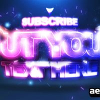 SUBSCRIBE – PROJECT AFTER EFFECTS (VIDEOHIVE)