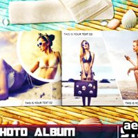 SUMMER PHOTO ALBUM – AFTER EFFECTS PROJECT (VIDEOHIVE)